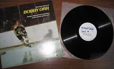 """Bobby Orr - LP -  """"The Two Sides Of Bobby Orr""""  - Canadian pressing - cut-out"""