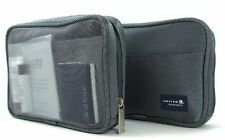 UNITED Amenity Toiletry Travel Kit Bag Business First Class/Sealed