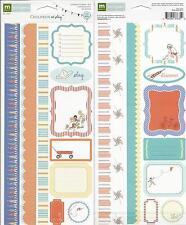 2012 Making Memories  CHILDREN AT PLAY JOURNAL STICKERS BOY by Sarah Jane