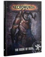 Necromunda The Book of Ruin (Englisch) Games Workshop Underhive Regelerweiterung