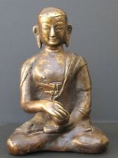 Antique Monk Bronze of Tibet