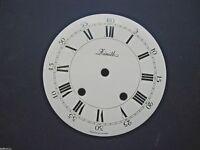 Cadran pendule neuchateloise Zenith horloge Uhr Clock Zifferblatt 181 MM dial G1