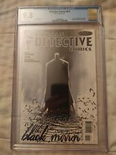 Detective Comics #871 (2011) Black Mirror Jock Cover CGC 9.8 White Pages