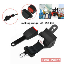 Forklift Seat Belt Two-point Automatic Retractable Bus Seat Belt Camlock Extend