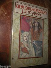 Unicorn & Dragon Lynn Abbey 1987 2 Sisters Fantastic Web Magic Intrigue FANTASY