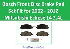 Bosch Front Disc Brake Pad Set for 2002 22003 2004 - 2012 Mitsubishi Eclispse L4