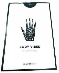 New My Body Vibes Energy Frequency Smart Stickers Self-love 10 Pack Sold out