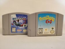 Pilotwings 64 & Bass Hunter 64 - Authentic, VG