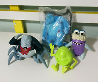 Lot of 4x Disney / Pixar's Monster's Inc Figures: Mike, Boo, Sully & Waternoose!