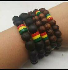 Rasta African Bead Bracelets | Unisex.
