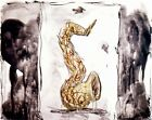 Claes Oldenburg: Soft Saxophone (Black, Yellow, Red),1992. Signed,Numbered Print