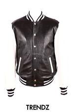 Zip Waist Length Baseball College Coats & Jackets for Men