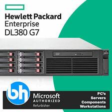 HP ProLiant DL380 G7 2x Intel Xeon Quad Core E5620 64GB RAM P410 2U Rack Server