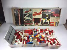 Vintage Lego building set # 375 in Original box Samesonite
