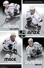 HOCKEY POSTER Los Angeles Kings Team NHL 2013 Justin Williams Anze Kopitar