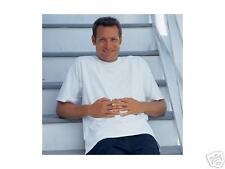 12 HANES TAGLESS AUTHENTIC WHITE T-SHIRTS FREE SHIPPING