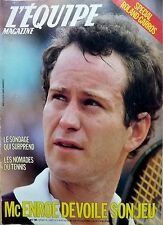 Mag rare 1985: JOHN McENROE_MATS WILANDER_GUILLERMO VILAS_MICHEL PLATINI