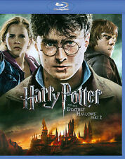 Harry Potter and the Deathly Hallows: Part II (Blu-ray Disc, 2011, Digital Copy