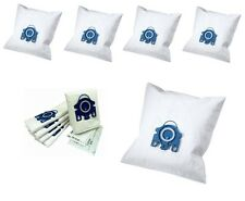 5 PACK MIELE GN TYPE VACUUM HOOVER MICRO FIBRE CLEANER DUST BAGS WITH 2 FILTERS