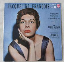 33 TOURS 25 cm JACQUELINE FRANCOIS N°4 PHILIPS N 76.077 R TRES BON ETAT