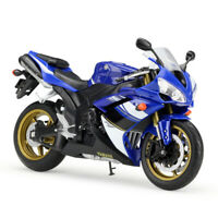 Welly 1:10 YAMAHA YZFR1 Blue Diecast Motorcycle Bike Model Collection Gift Boxed