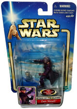 Star Wars Zam Wesell Action Figure AOTC MIB Face Reveal Mask Attack of Clones