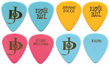 4 JO DEE MESSINA Tour Guitar Picks lot : country music concert pick