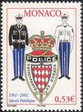 Monaco 2002 Police Force/Policemen/Law/Order/Badge/Justice 1v (n38943)