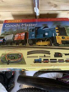 Hornby Goods train set A Lovely  Box Damaged See Photos