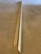2 Pieces Of White 1� Length Molding Nurre Caxton 46 And 47� Long.