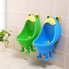 Children Kids Toddler Frog Potty Urinal Toilet Training Boy Bathroom Pee Trainer