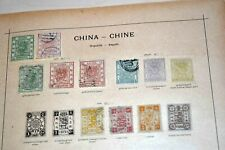 China empire + foreign offices: STRONG old collection on Schaubek pages
