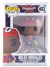 Funko Pop Spider Man Miles Morales #403 Box Not Mint Condition