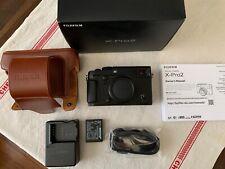 New ListingFuji Fujifilm X-Pro2 24Mp Mirrorless Digital Camera Body + box & accessories