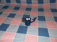 f. Nwt Russ Berrie Rubber Finger Puppet Blue Monster Wiggler
