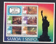 Samoa Bicentenary of American Independence Mini Sheet 1976
