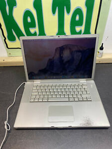 Apple MacBook Pro A1226 VINTAGE MAC BAD BATTERY YOSEMITE WORKING WORN 2.2GHZ