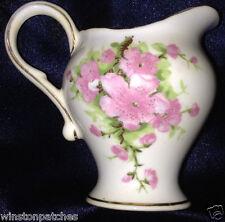 SPENCER STEVENSON ROYAL STUART ENGLAND SPE22 CREAMER 4 OZ PINK FLOWERS