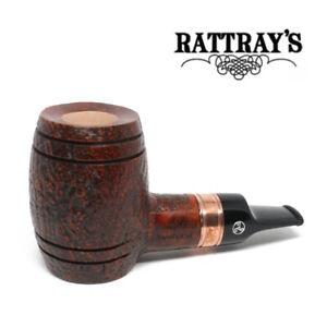 NEW Rattrays - Devil's Cut - Sandblast -  Reverse Calabash - 9mm Filter Pipe