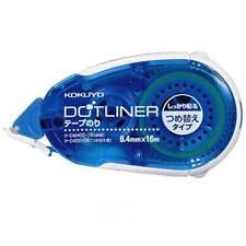 Kokuyo Tape Glue Dot Liner Strong Adhesion Type DM400-08 Free Shipping Japan