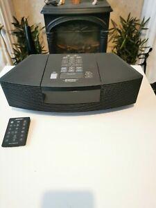 Bose Wave Radio CD Player - Black (AWRC3G) With Remote