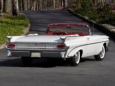 1959 Pontiac Catalina Convertible, White, Refrigerator Magnet, 40 Mil