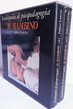 Enciclopedia di Psicopedagogia 2 Volumi Libri Il Bambino Editori Laterza Mamma
