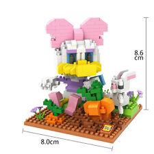 Disney Daisy Duck Rabbit LOZ BLOCK Micro Mini Building Nano Block Iblock Gift