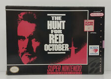 The Hunt For Red October Super Nintendo SNES Box Only Original 1992 Box