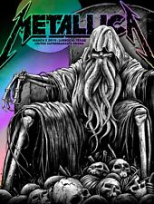 Metallica Lubbock, Tx Poster Rainbow Edition Xx/30 (In Hand)