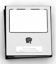 More details for bear silver personalised photo album free engraving 100 photos. 026
