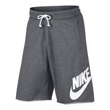 Shorts e bermuda da uomo grigie Nike in cotone