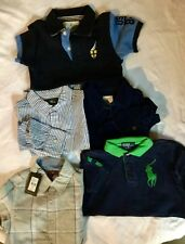 Boys Lot Size 5/6 Shirts And Polos