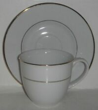 Astor Place Gold Line Cup & Saucer